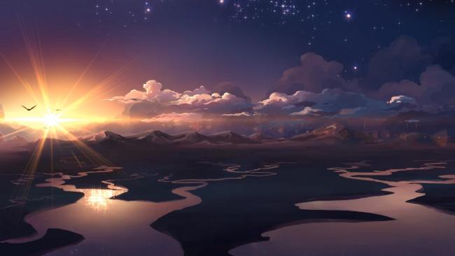 risovannye-priroda-gory-reki-oblaka-vosh-827912