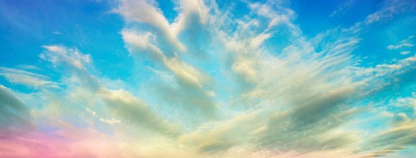 clouds-sky-flowers