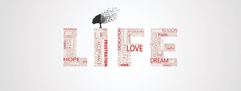 life-typography